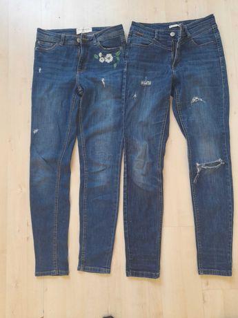 Jeans spodnie reserved 34 gratis