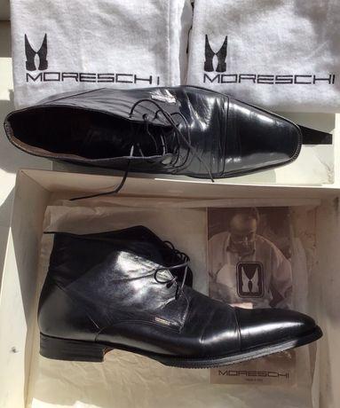 Moreschi элегантные итальянские ботинки, размер 42,5 - 43 (Baldinini)
