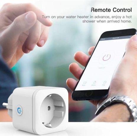 Tomada wifi inteligente - Compatível com Alexa e Google Assistant