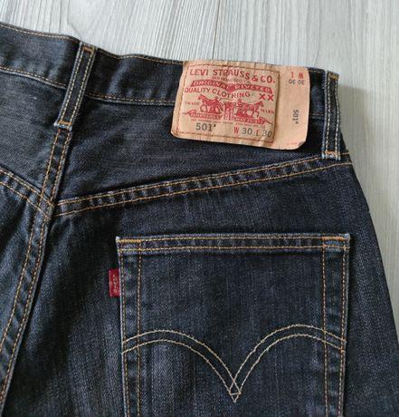 Męskie spodenki LEVIS 501 roz. 30 jeans vintage