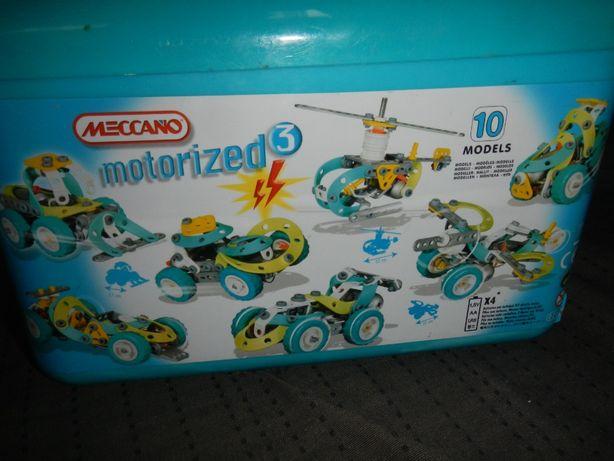 Klocki konstrukcyjne Meccano motorized 3 w walizce