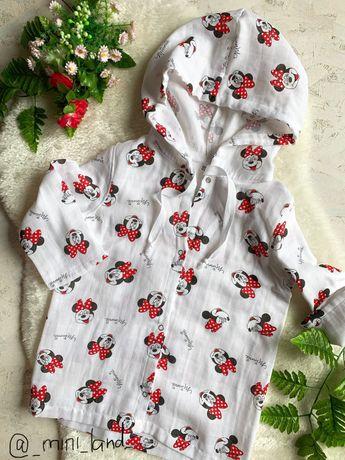 Рубашка туника пляжная детская для мальчиков и девочек