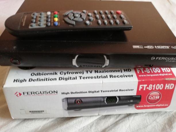 Tuner do odbioru telewizji naziemnej DVB-T marki: Ferguson 8100