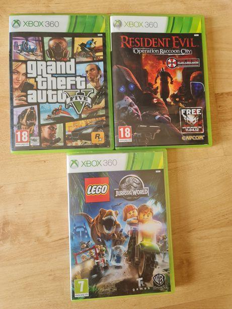 GTA , Resident Evil , Lego Jurasic Park xbox