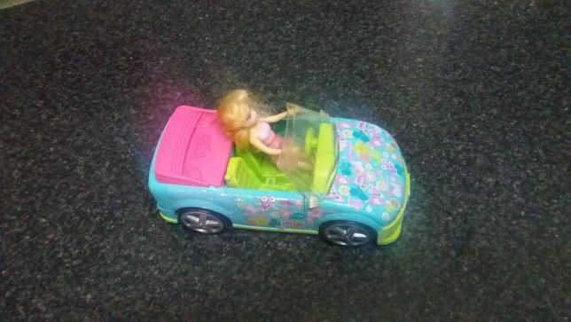 Carro Polly c/boneca