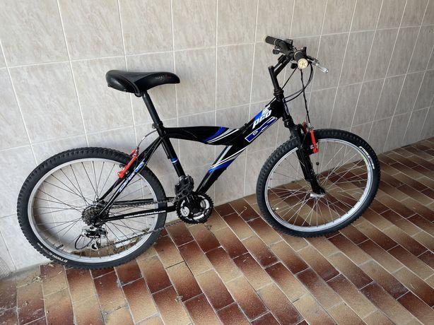 Bicicleta btt roda 24 em muito bom estado