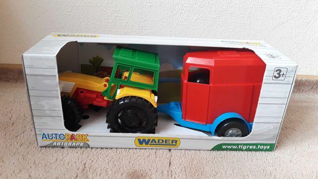 Дитяча іграшка Трактор wader