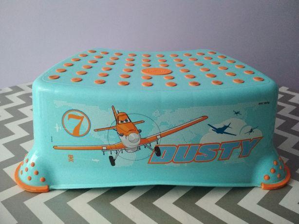 Sprzedam podest, stopień + podkładka, idealne, Disney, bajka samoloty