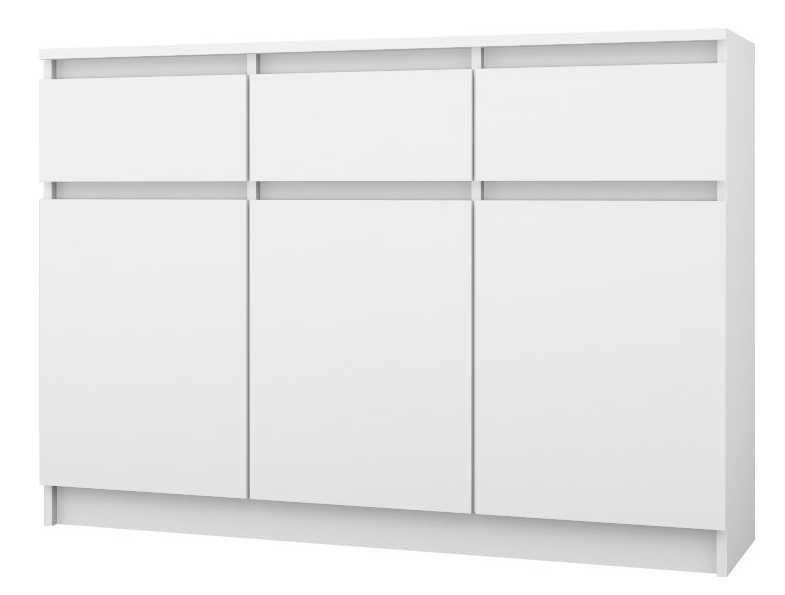 3+3 140/ TANIA pojemna KOMODA szafka / 140x84,6x38 / 4 kolory / Kurier