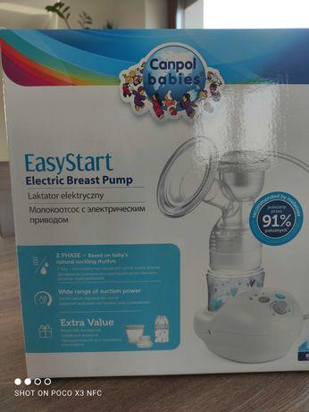 Laktator elektryczny Canpol Easy Start z akcesoriami