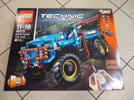Klocki LEGO Technic Terenowy holownik 6x6 42070, nowe