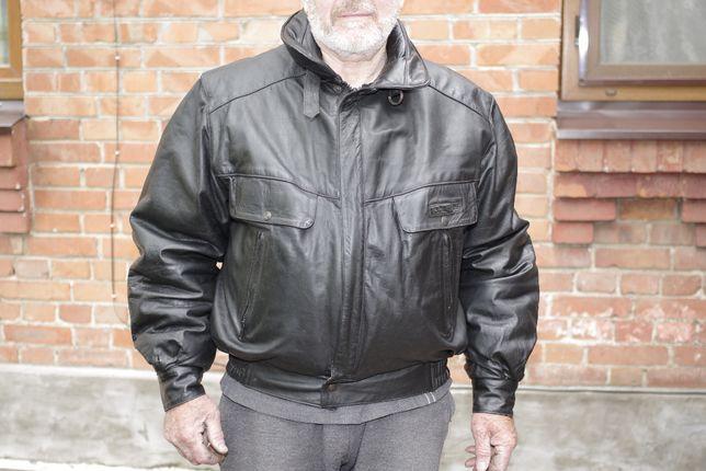 Кожаная мотокуртка, мото куртка Frank Thomas, размер L
