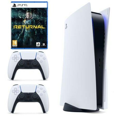 Konsola PlayStation 5 PS5 825gb NOWA z napędem + Pad +  Returnal