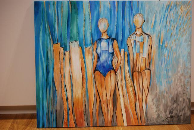 Obraz akrylowy ręcznie malowamy