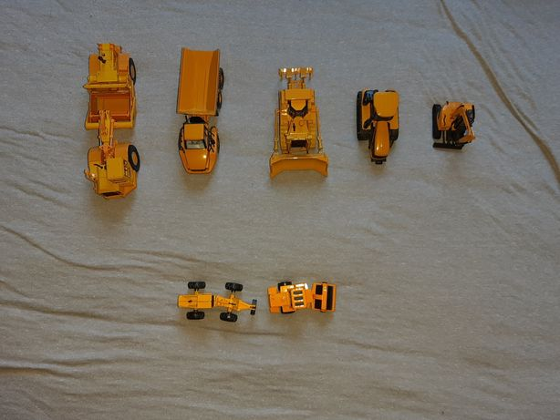 Kolekcja maszyn budowlanych