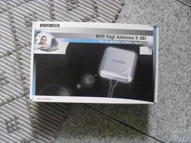 Antena wireless e Conversor Fibra ótica