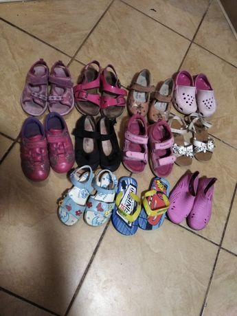 Sandaly pantofle adidasy kapcie crocs rozm 25