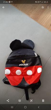 Plecak Mickey ze smyczą