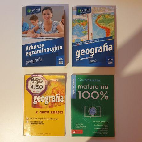 Podręczniki geografia liceum, matura