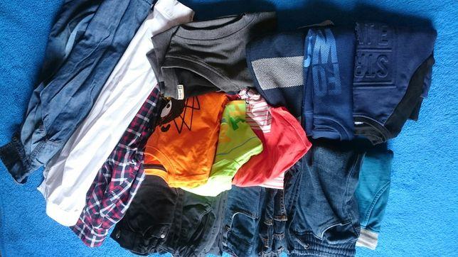 Zestaw ubrań paka ubrań rozmiar 128