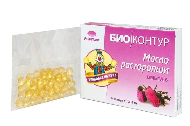 Olej z ostropestu 60 kaps 330 mg