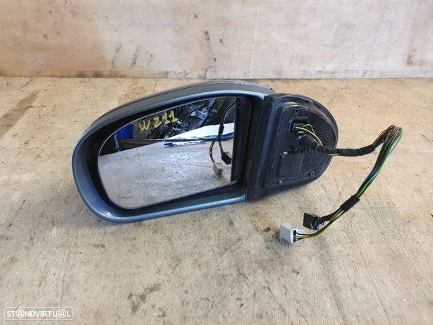 Espelho Retrovisor Esquerdo Mercedes E-Class W211 - 2002 / 2009 (Rebativel Electricamente)