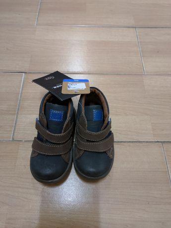 Новые детские кожаные ботинки Gioseppo 20 размер