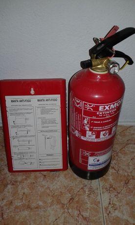 Extintor +Manta fogos