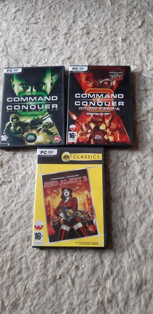 Command&conquer (red alert 3, gniew Kanea, wojny o tyberium) PC