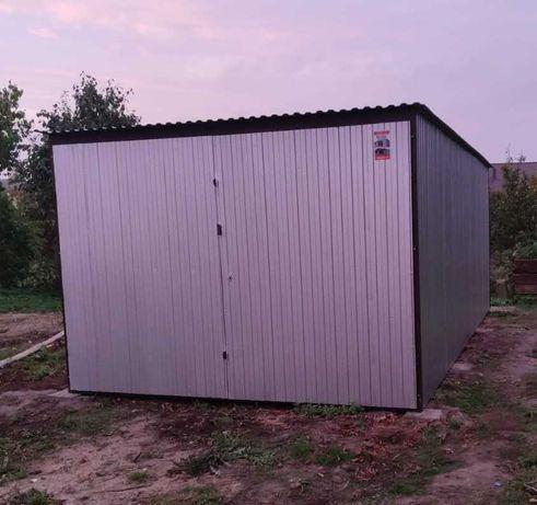 Garaże blaszane ocynkowane 3x5, 4x5, 2x3, 3x3
