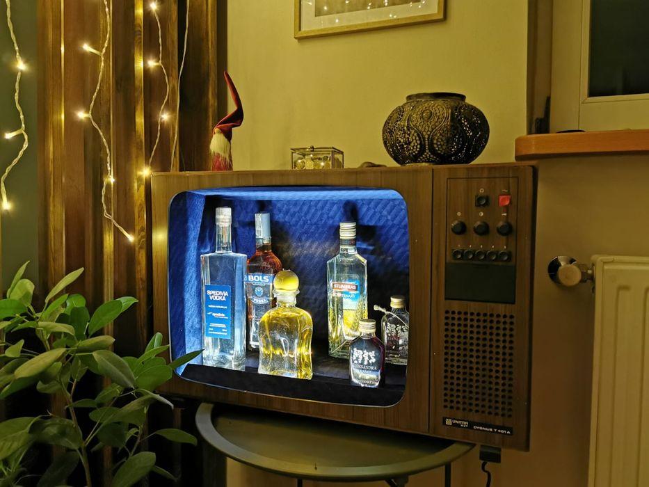 Barek na alkohol telewizor PRL Kielce - image 1