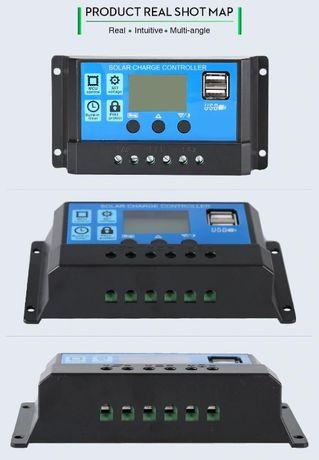 Контроллер солнечных панелей 10 А.