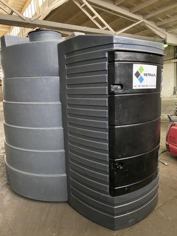 Zbiornik dwupłaszczowy ON 5000l zbiornik na paliwo