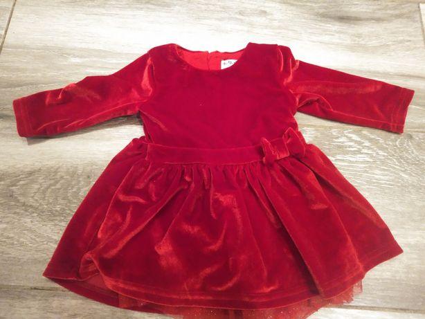 Sukienka dla dziewczynki 68