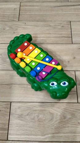 Cymbałki krokodyl Fisher price