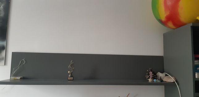 Półka z Agata meble z kolekcji Forte , model Libelle regał szafka