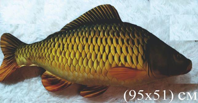 Подушка декоративная-Сазан-сувенир,подарок рыбаку,мужчине