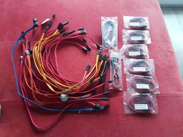 Kabelek SATA do dysku twardego HDD lub DVD-ROM kabel kable sata