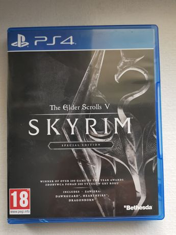 The Elder Scrolls V Skyrim SE PS4