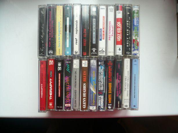 wyprzedaż kolekcji kaset magneto. audio 8 wykonawców