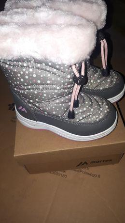 Śniegowe dla dziewczynki R.25