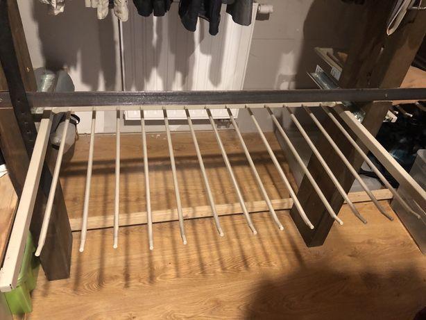 Wieszak Ikea PAX na 13 par spodni jak nowy
