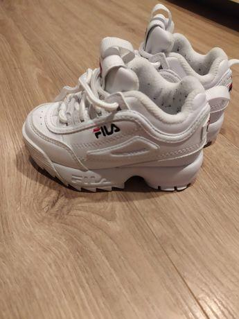 Sportowe buty FILA dla dziewczynki rozmiar 22