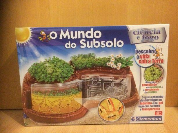 Clementoni - Mundo do Subsolo [Novo, ainda selado]