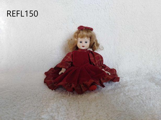 Boneca porcelana REFL150