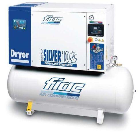 Compressor Parafuso Industrial FIAC NewSilver D10/300 10HP 10 bars.