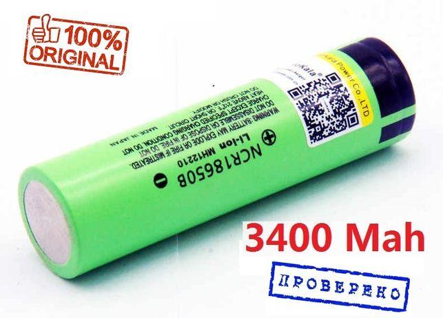 Аккумулятор Panasonic NCR18650B 18650 Li-ion 3400mAh LiitoKala - ориг