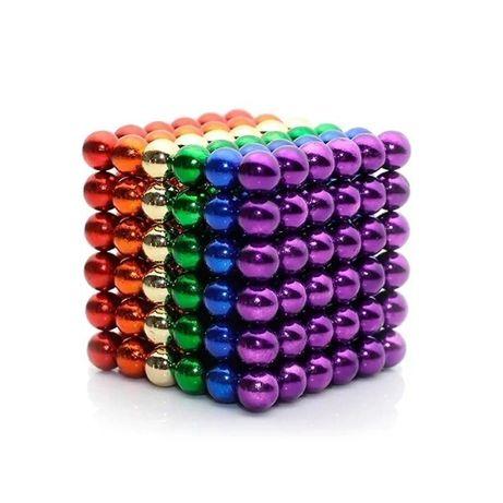 Топ! Конструктор Неокуб Neo Cube 5мм.216 шариков, разноцветный.