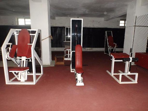 Wyposażenie siłowni, kompletna siłownia, atlasy do ćwiczeń