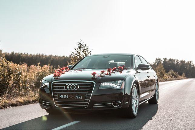 Auto do ślubu Audi A8 d4 long Porsche Cayenn WOLNE TERMINY!
